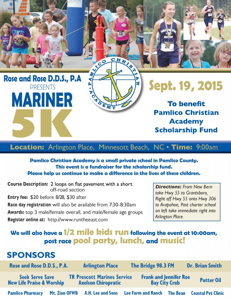 Mariners 5K flyers2015 (1)