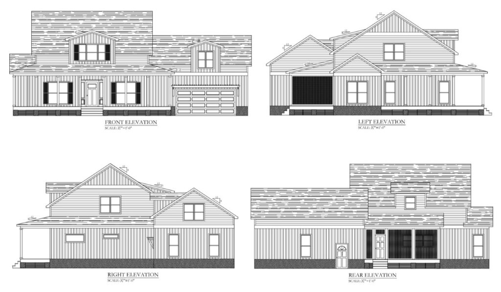 Southern Comfort elevations