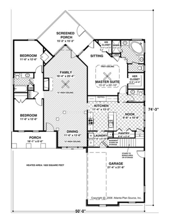 Spinnaker floor plan
