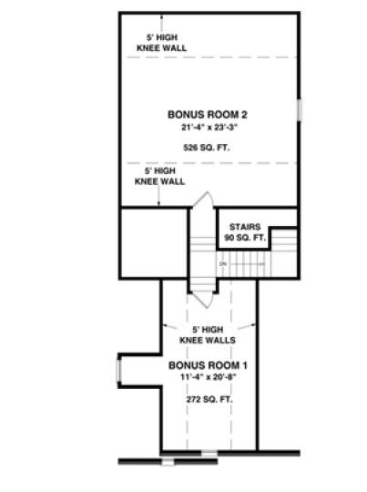 Spinnaker floor plan bonus rooms