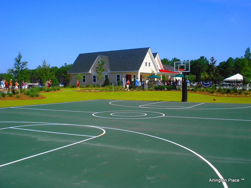 Basketball Courts at Arlington Place