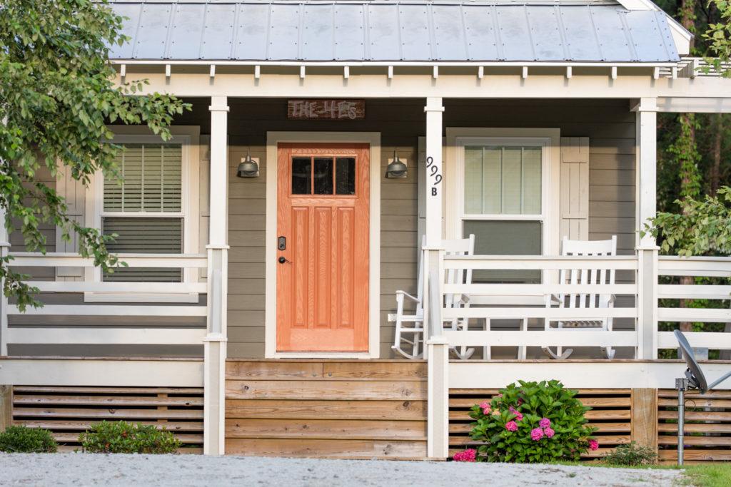 The 4 E's cottage at Arlington Place.