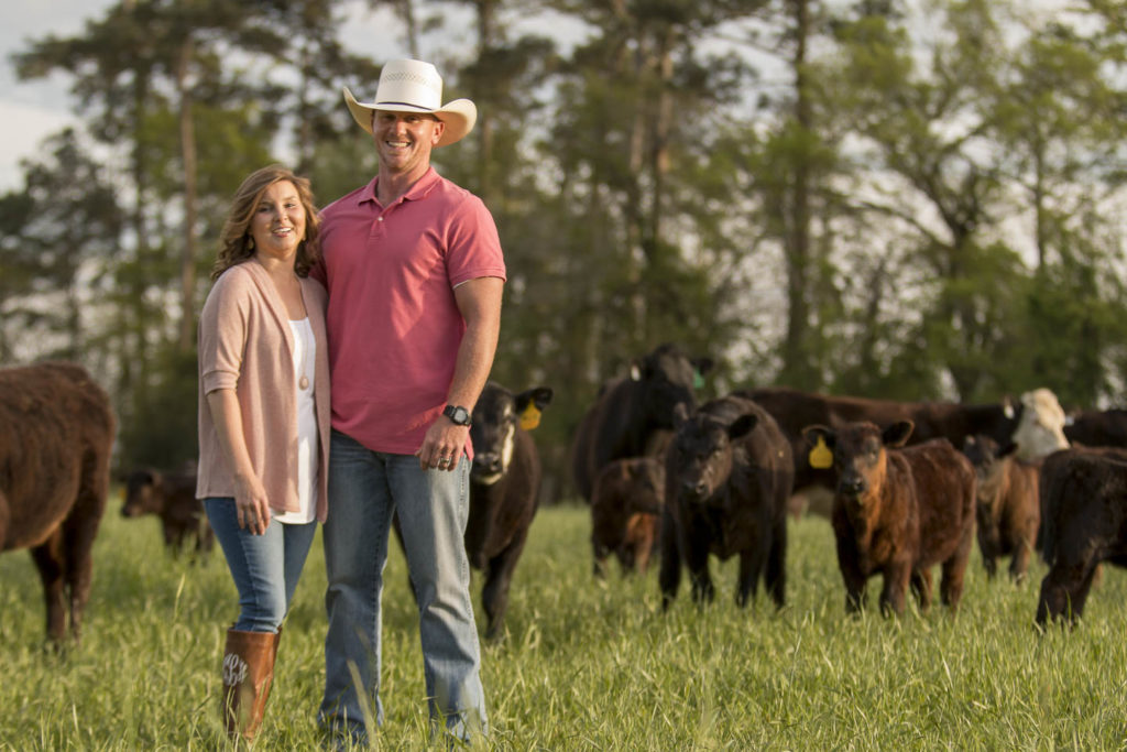 Dawson Creek Cattle Company Owners Justin & Christen Lee