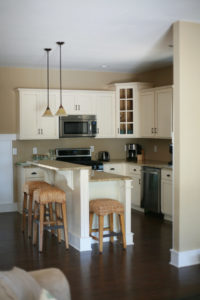 The Pamlico Cottage kitchen.