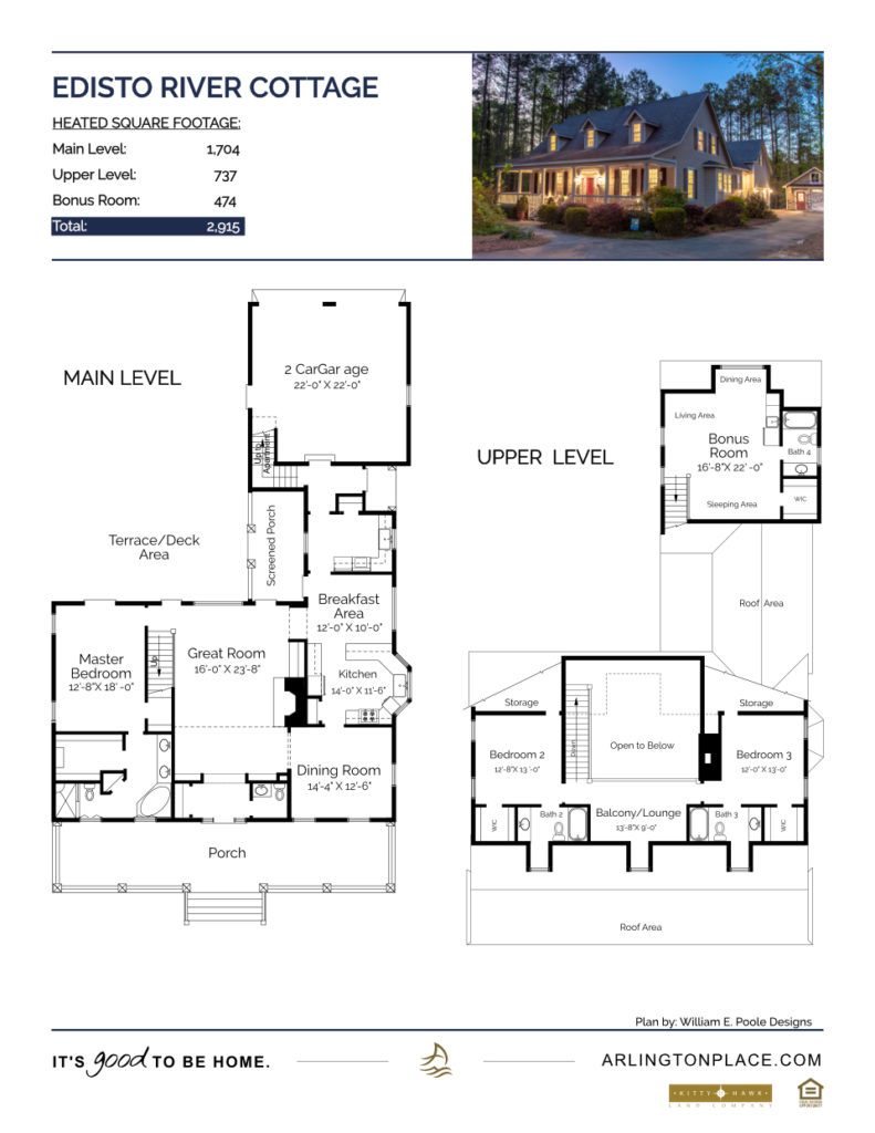 Edisto River Cottage Home Plan