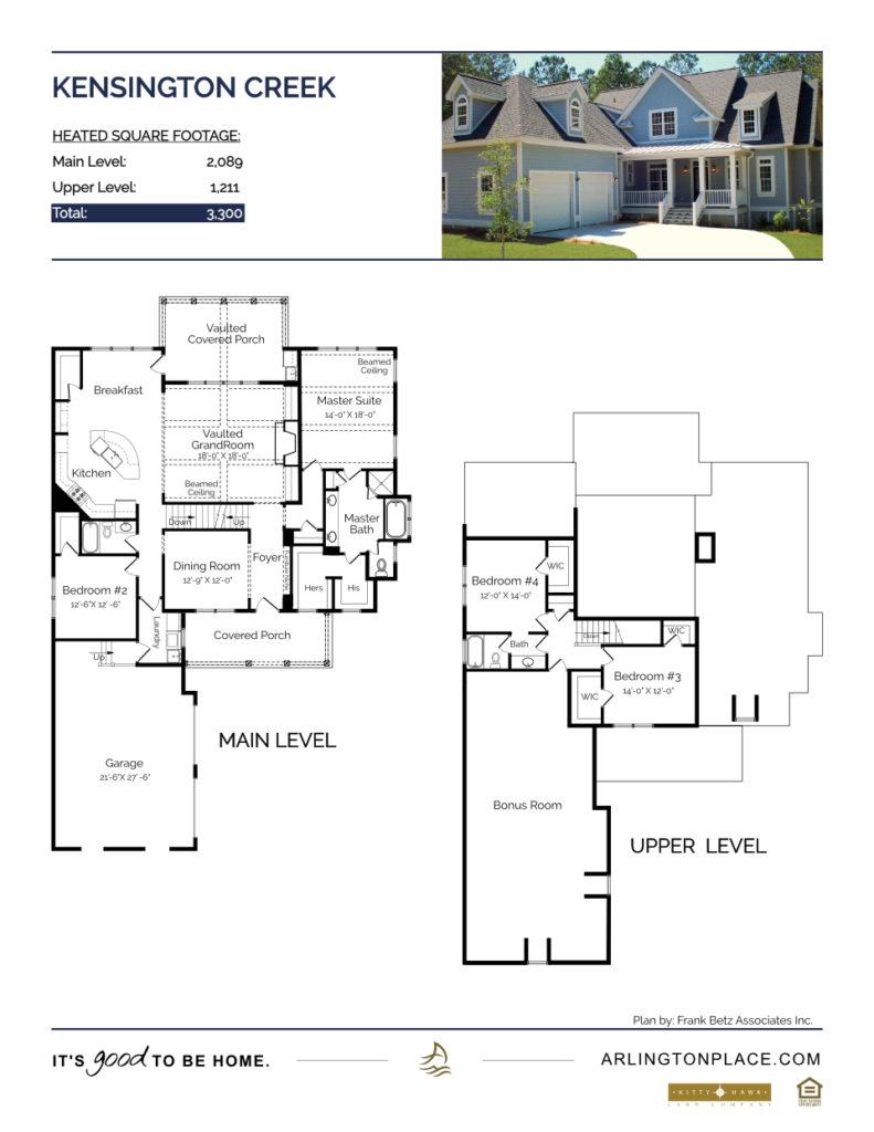 Kensington Creek Home Plan