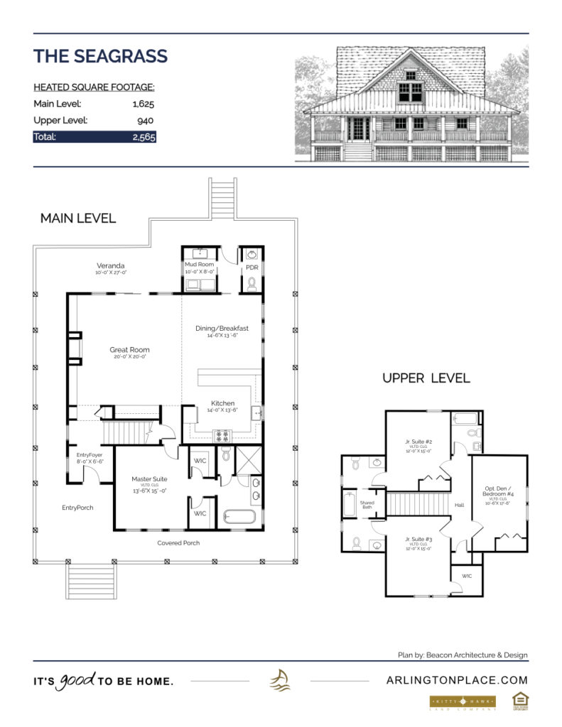 The Seagrass Home Plan