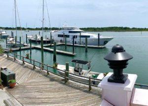 Beaufort docks.