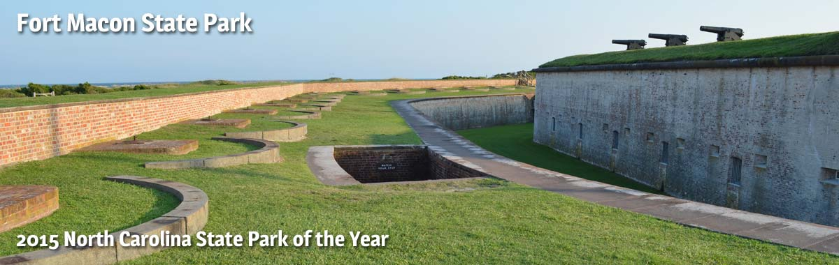 Fort Macon State Park near Pine Knoll Shores NC