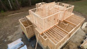 aerial second story framing