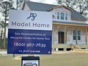 SoCo model home sign