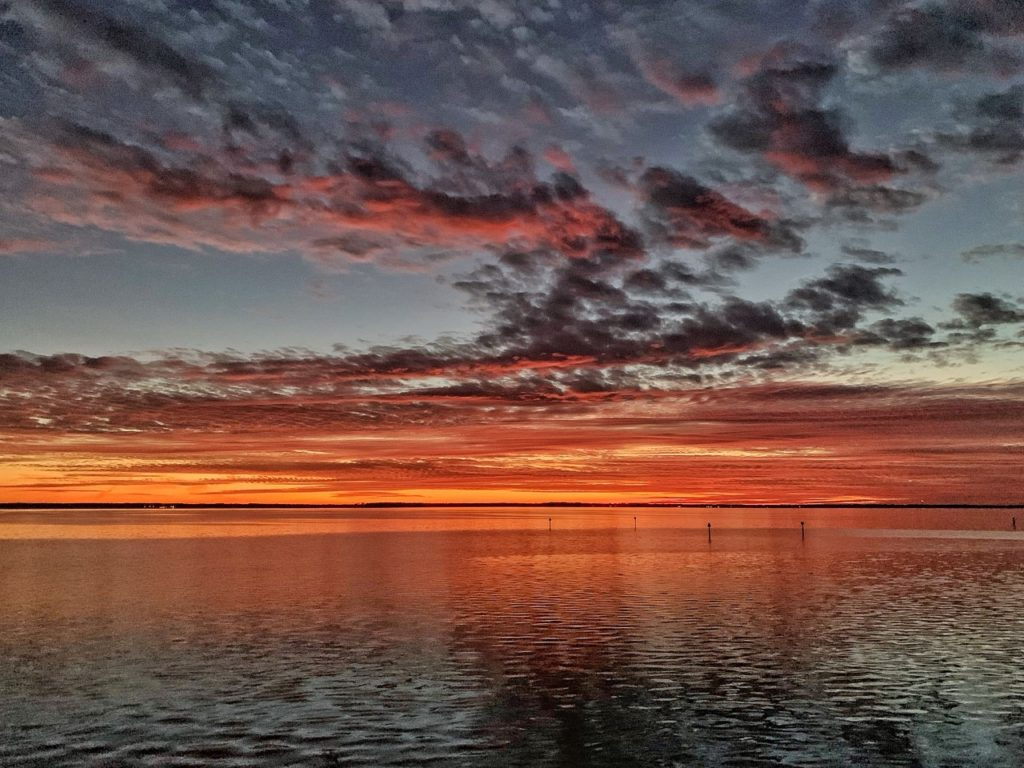 neuse river sunset