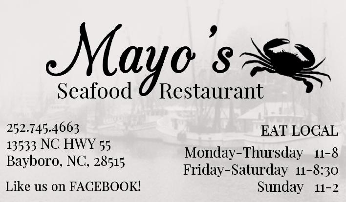 Mayo's seafood logo