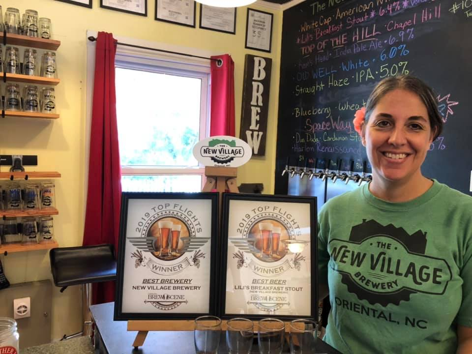 new village brewery lili bacon awards