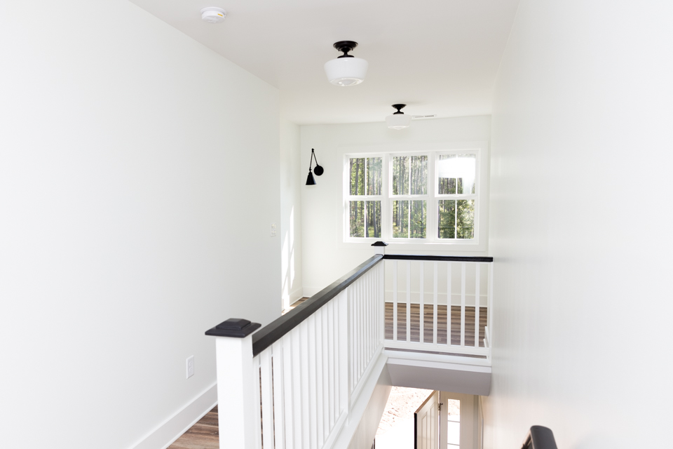 Carolina Capehouse cottage home interior at Arlington Place.