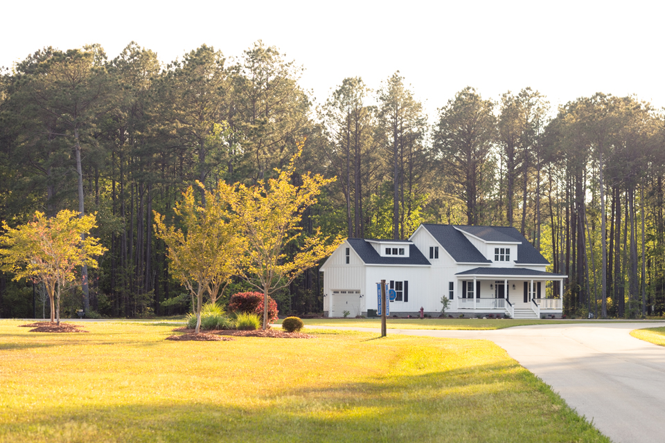 Carolina Capehouse cottage home at Arlington Place.