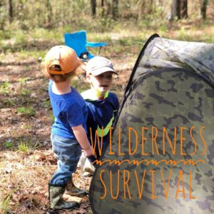 homeschooling wilderness survival class