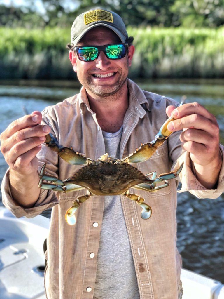 huge blue crab
