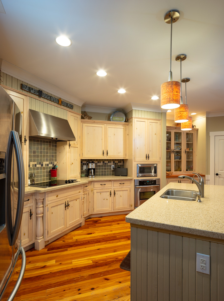 Functional kitchen inside an estate home at Arlington Place.