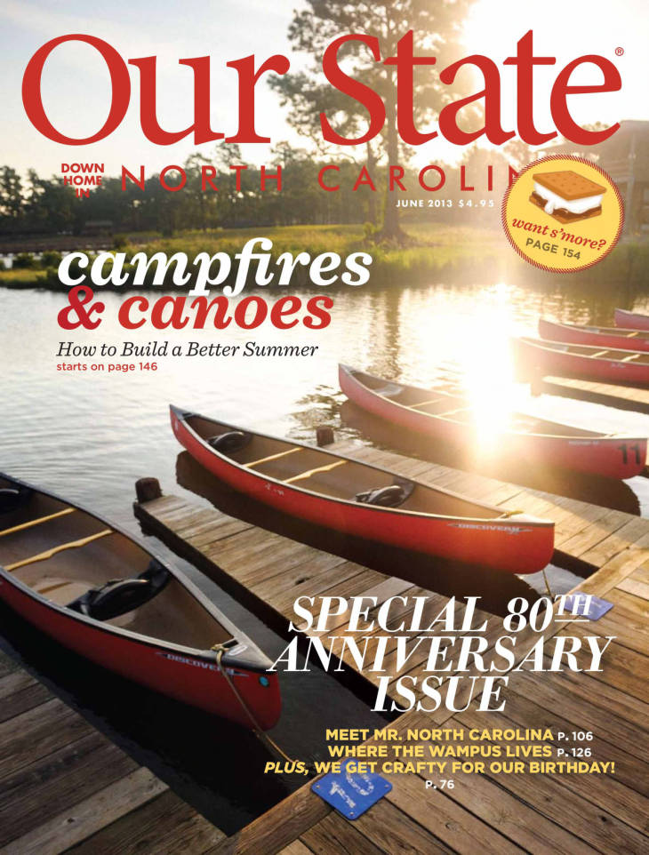 Our State campfires and canoes