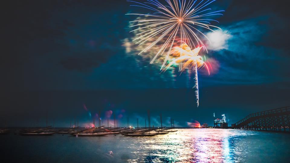 camp fireworks