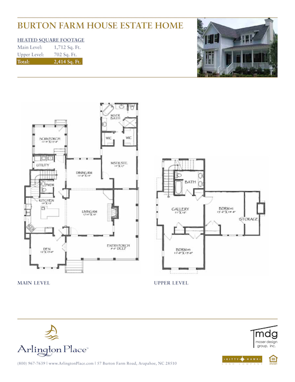 Property Type Home Plans – Estate Home Floor Plans