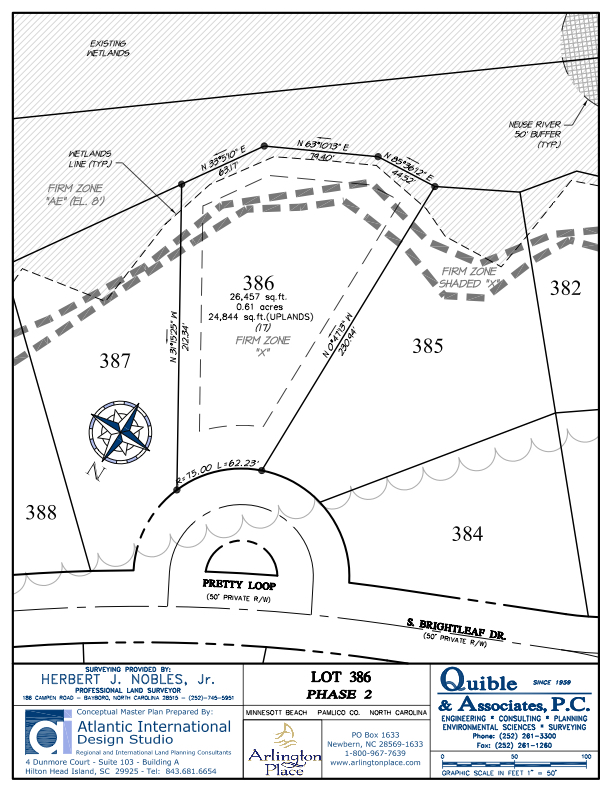 Arlington Place Homesite 386 property plat map image.